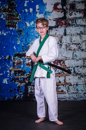 PKSA Grand Blanc Karate Portraits