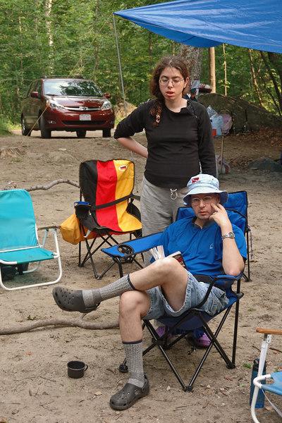 Jill and Dan in camp   (Jul 01, 2006, 06:20pm)