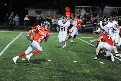 Bishop Hartley Upper Sandusky Football 2NOV12