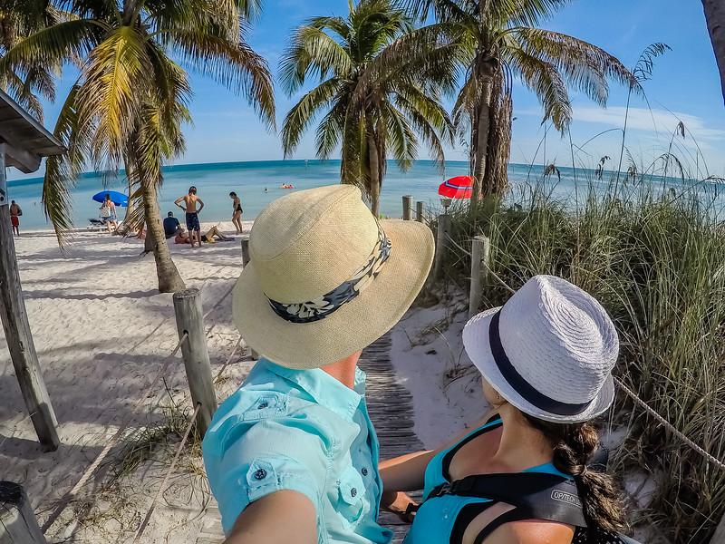 Lina and David Stock in Florida