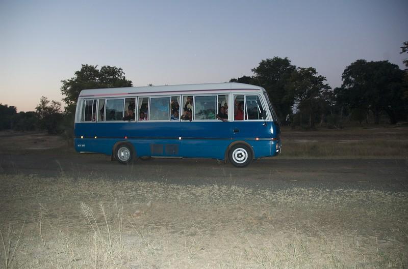 Friends made on safari, Livingstone, Zambia - Leslie Rowley