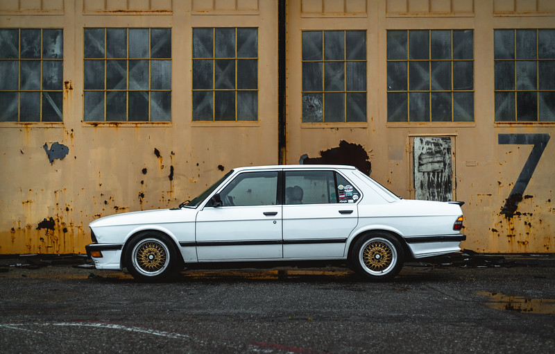 1986 BMW 535is