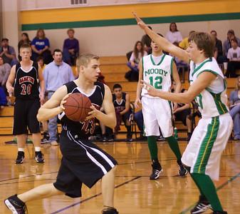 Boys Varsity Basketball vs. Moody