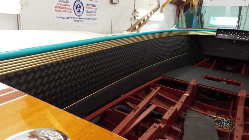 Port liner installed.