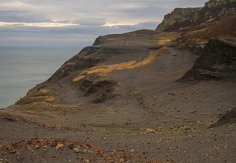 Boulby Cliffs, Yorkshire Coast, England