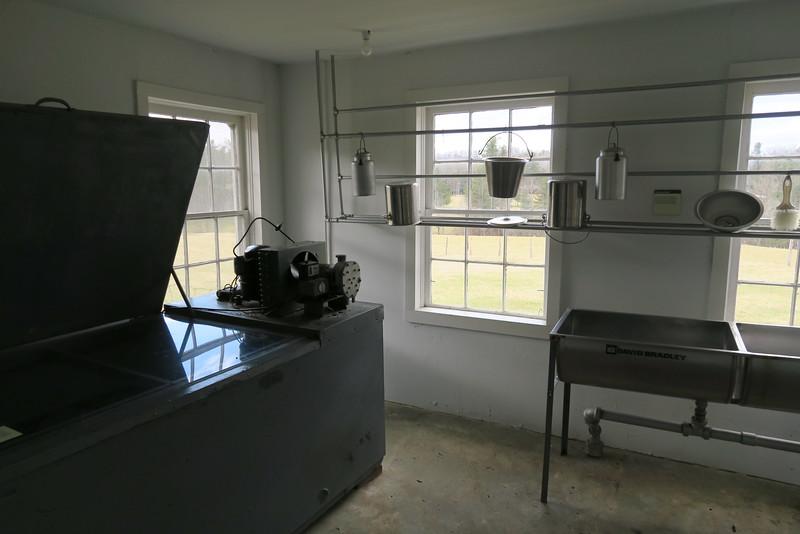 Milk-house (interior)