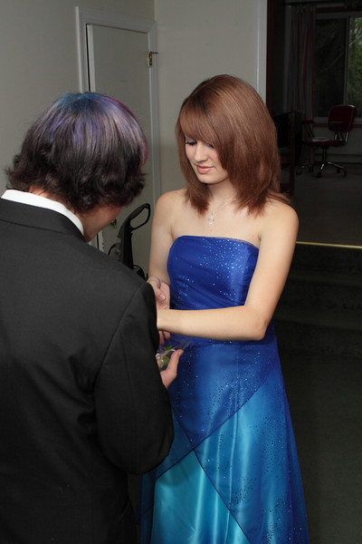 Hannah & Kyle - Prom pics 2011