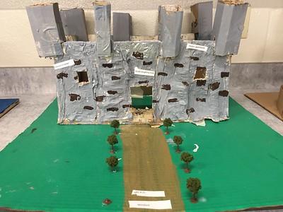 6th Grade History Castle Project