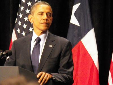 President Obama San Antonio Eva Longoria Mayor Castro