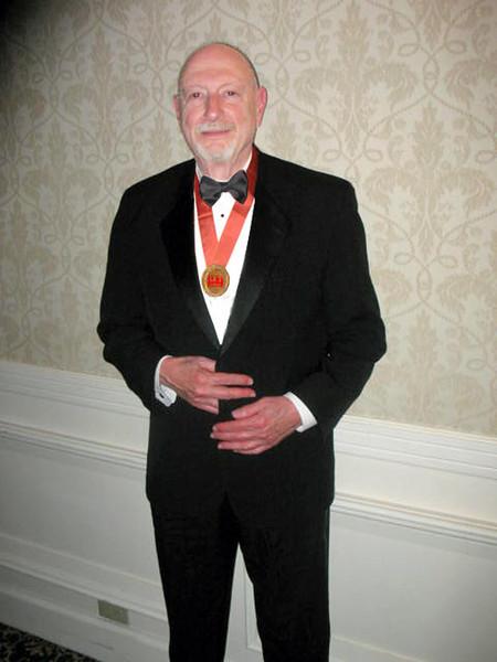 NK wearing FAICP medallion, APA Las Vegas, Spring 2008