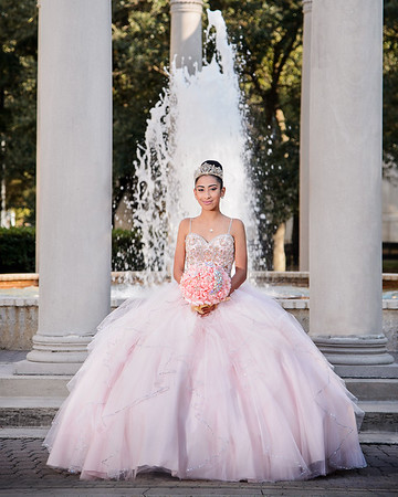 Ashley Gonzalez Quinceanera Portraits 120217