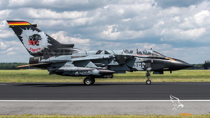 Luftwaffe TaktLwG 51 / PANAVIA Tornado IDS / 43+25 / Tigermeet 2019