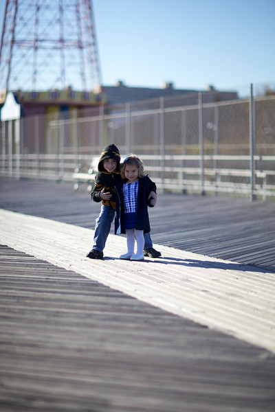 Kids on the Boardwalk