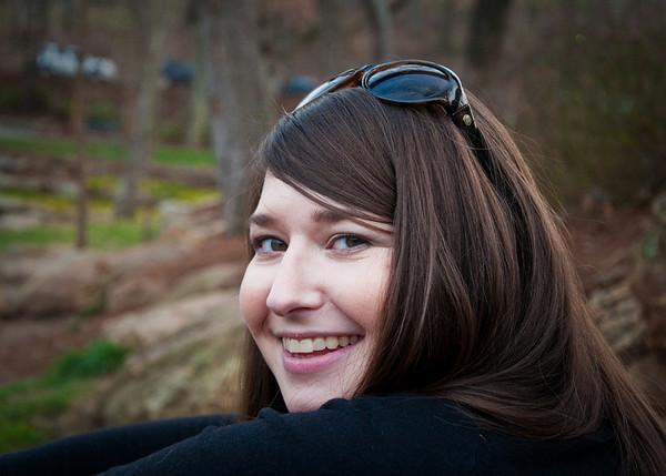 Annette at Falls Park