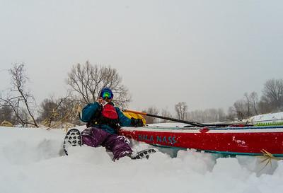 April Blizzard Paddle