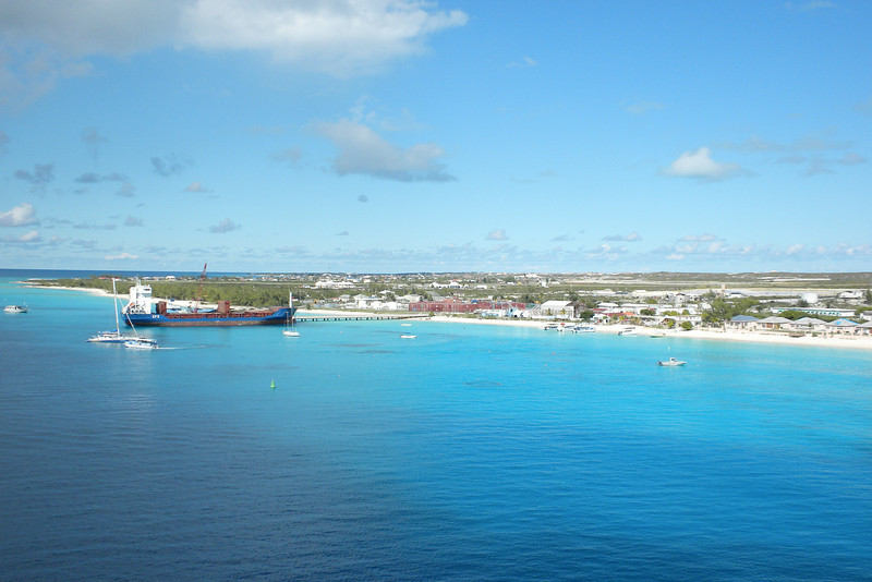 November 20, 2009 - View from the Emerald Princess of Grand Turk, British West Indies