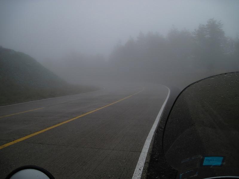 Carretera Austral - Fog