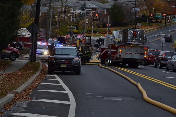 November 12, 2013 - Westwood, NJ - Working Fire