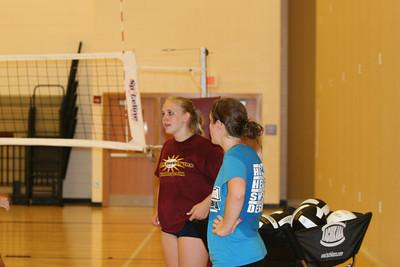 6th & 7th grade volleyball camp
