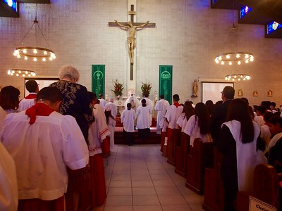 2017 Altar Server Mass at St. Patrick