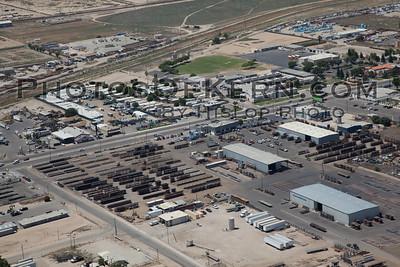 Industrial Bakersfield Aerial