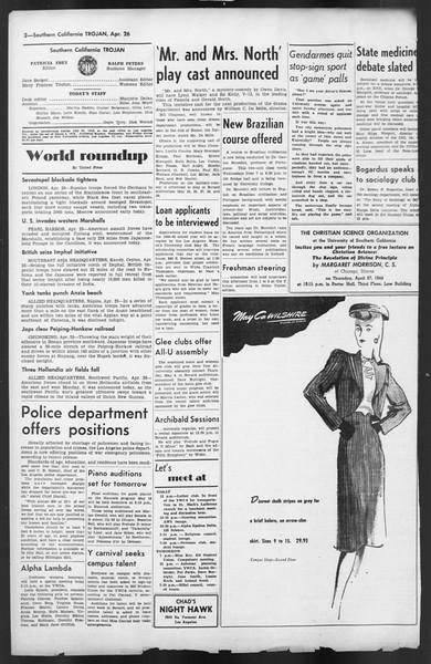 The Trojan, Vol. 35, No. 110, April 26, 1944