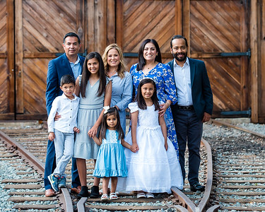 The Flores Family and Communion Photos