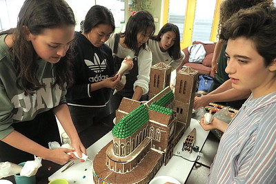 IB gingerbread cathedral