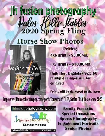 Spring Fling Horse Show 2020