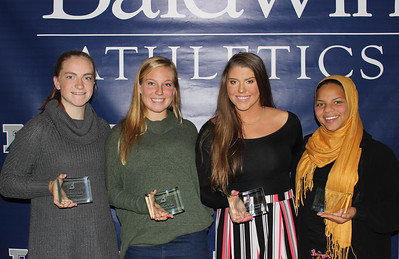 Fall Athletics Awards Night 2018