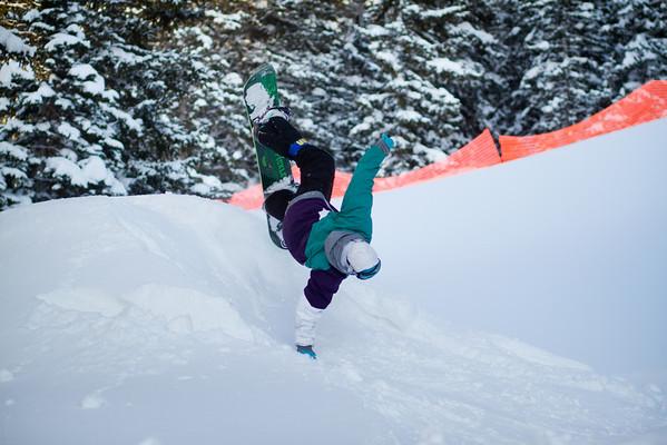 Adam - Snowboarding