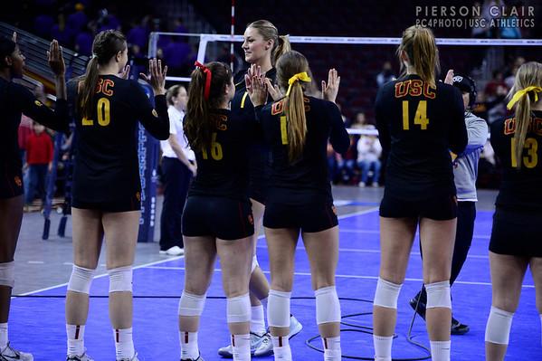 USC Women's Volleyball v UW 2013 NCAA Round 4