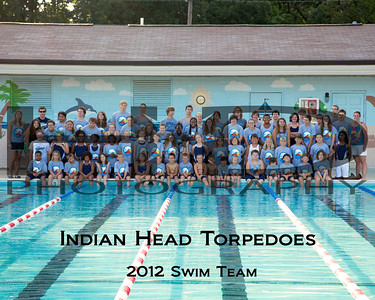Indian Head Torpedoes Swim Team 2012