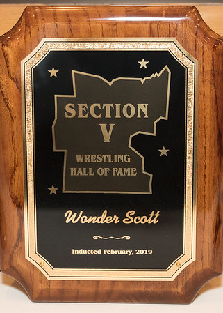 2019 Sec. V Wrestling Hall of Fame  2-12-19