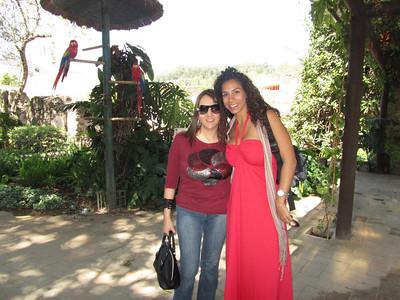 Visita Luis y Estela