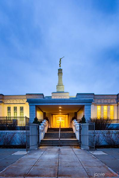 St Paul Temple Front Entrance
