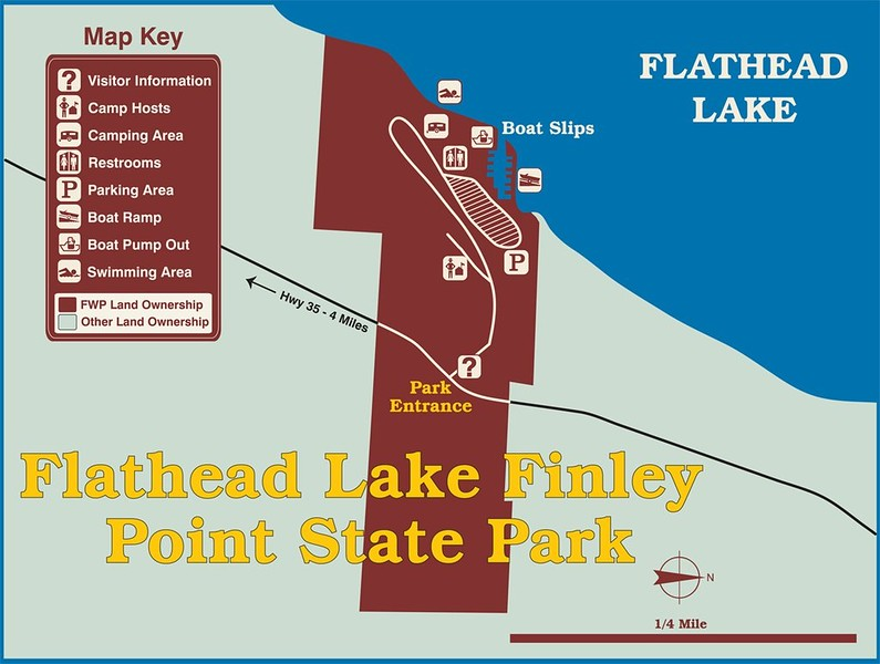 Finley Point-Flathead Lake State Park