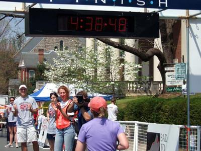 Charlottesville Marathon 2006