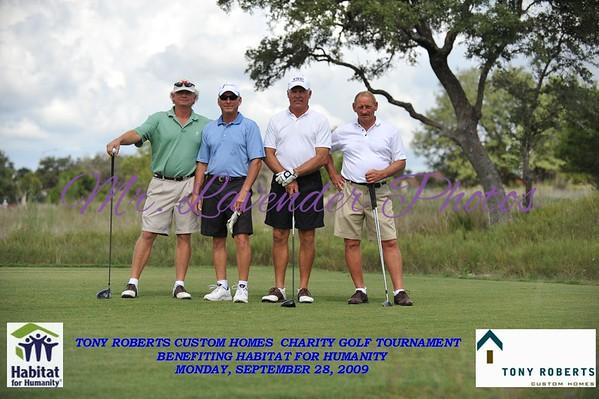 Tony Roberts Charity Golf Tournament Sept 28, 2009