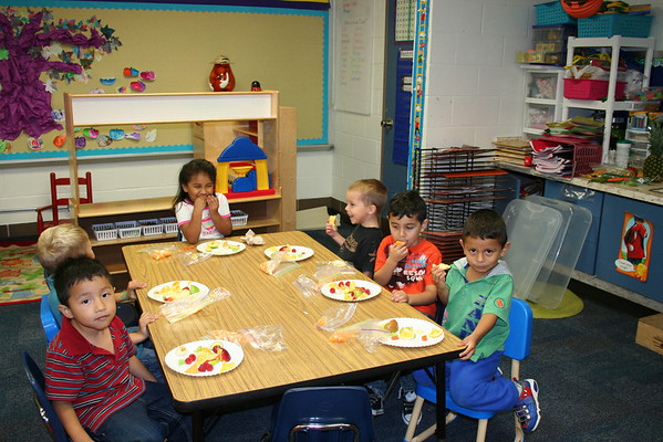 ECP Learning About Fruits and Vegetables!