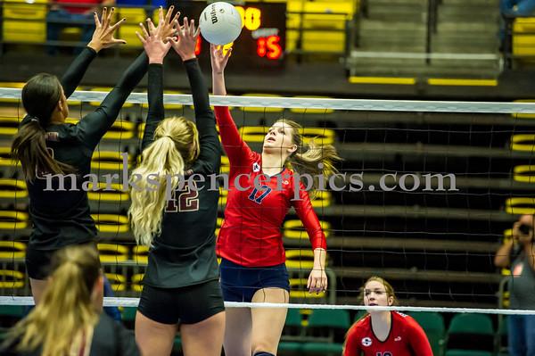 Volleyball GSHS vs MMHS 11-5-2016