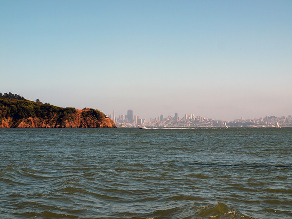 Angel Island with SF Skyline