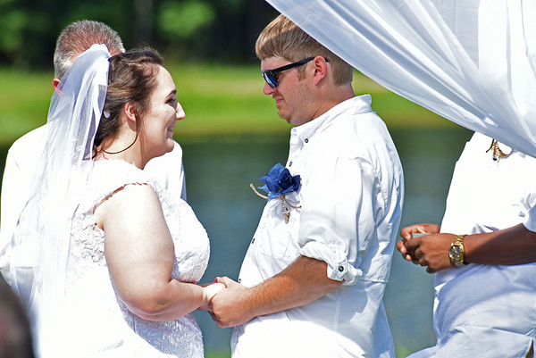 Amanda Brisson and Chad Whiting get Married in the Golden Isles 06-10-17