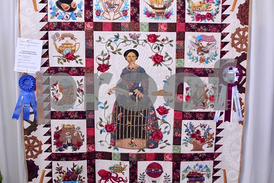3/24/17 36th Annual Quilt Show - Home Is Where The Heart Is by Jim Bauer