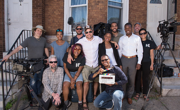 "The Making of ""Rewiring Baltimore"" Production Stills"