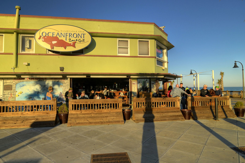 Oceanfront Bar and Grill on the Boardwalk in Myrtle Beach, South Carolina on Saturday, January 28, 2012. Copyright 2012 Jason Barnette