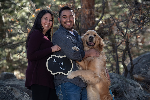 Isaac Hernandez and Desiree Vigil Engagement