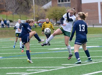 2016 BBA Girls Soccer Quarterfinal vs Burlington photos by Gary Baker