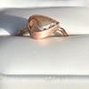 1.86ct Rustic Rose Cut Diamond Bezel Ring 4