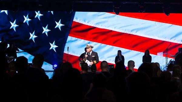 Sunday Worship , Honoring Veterans - November 11, 2018